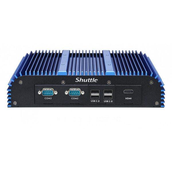 SHUTTLE BOX-PC SIN VENTILADOR CON PROCESADOR INTEL ULV EN UN CHASIS ROBUSTO - N/P: BPCWL02